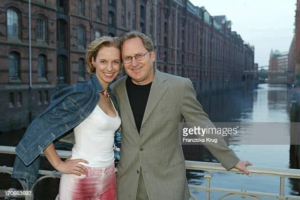 Schauspielerin Mareike Carriere Und Ehemann Gerd Klement Beim Zdf Hansetreff In Hamburg