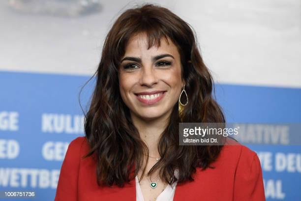 Schauspielerin Maria Ribeiro während der Pressekonferenz zum Film COMO NOSSOS PAIS/JUST LIKE OUR PARANTS anlässlich der 67 Berlinale