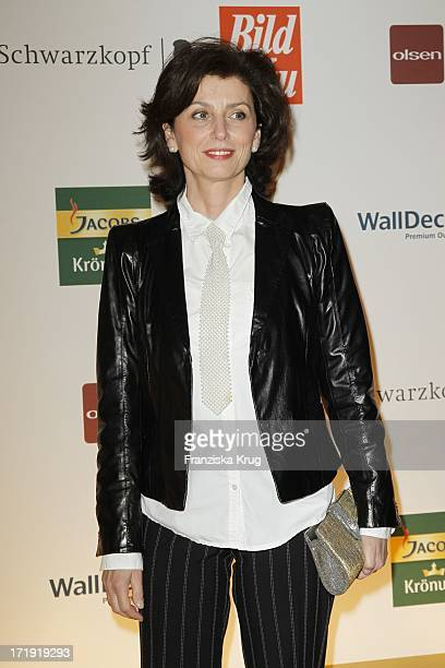 Schauspielerin Marijam Agischewa Bei Der Verleihung Der Goldenen Bild Der Frau In Der Axel Springer Passage In Berlin