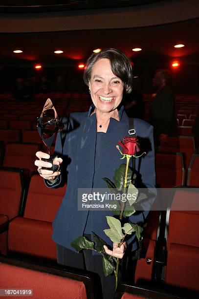 Schauspielerin Monica Bleibtreu Bei Der Verleihung Des Adolf Grimme Preis In Marl Am 310306
