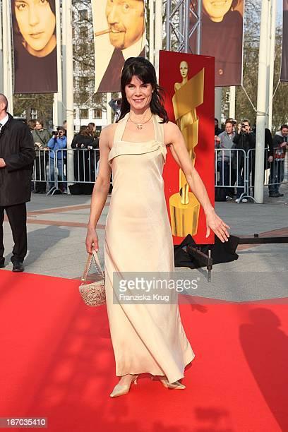Schauspielerin Nicola Tiggeler Bei Der Ankunft Zum Deutschen Filmpreis 2008 Lola Im Palais Am Funkturm In Berlin