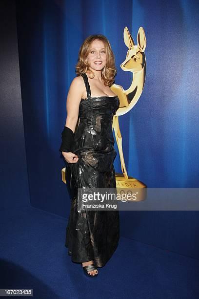 Schauspielerin Patricia Lueger Bei Der 61 Bambi Verleihung In Der Metropolishalle Des Filmparks Babelsberg In Potsdam