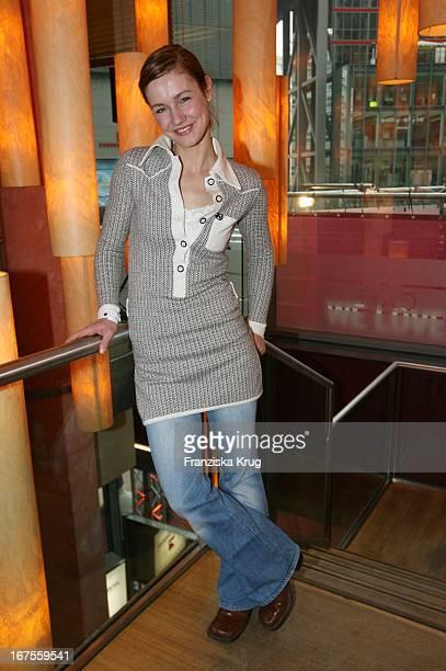 Schauspielerin Rhea Harder Beim Pro7 Berlinale Brunch In Cafe Josty In Berlin