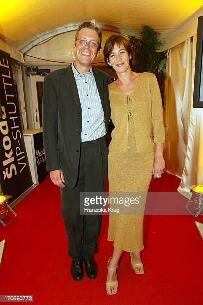 """Schauspielerin Sandra Maahn Und Christoph Goetz Beim Sommerfest Vom """"Schwartzkopff"""" Tv Am 200803 In Hamburg"""