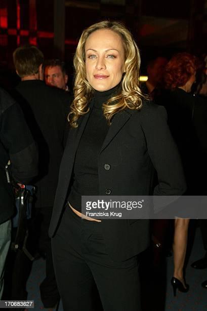 Schauspielerin Sonja Kirchberger Beim Empfang 30 Jahre Ziegler Film In Berlin