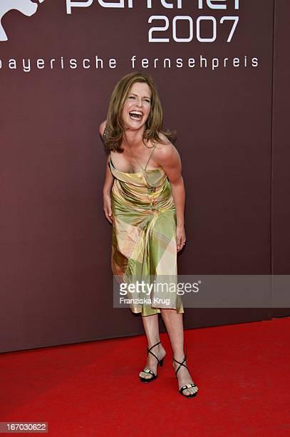 Schauspielerin Ursula Buschhorn Bei Der Verleihung Des Bayerischen Fernsehpreises In München Am 260507