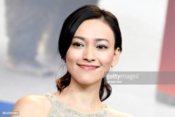 Schauspielerin Yao Yiti bei der Pressekonferenz zum Film MR LONG auf der 67 Berlinale
