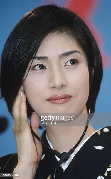 Schauspielerin Yuki Amami während einer Pressekonferenz anlässlich der 51 Internationalen Filmfestspiele in Berlin
