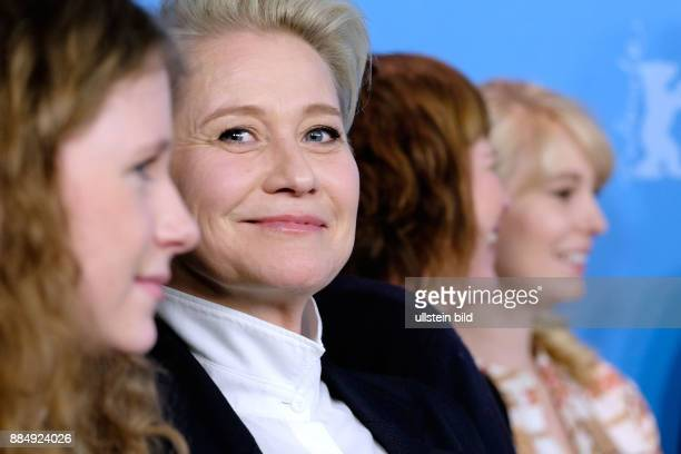 Schauspielerinnen Trine Dyrholm Anne Gry Henningsen Helene Reingaard Neumann und Martha Sofie Wallstrom Hansen während des Photo Calls zum Film...