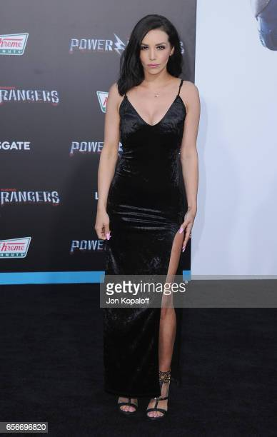 Scheana Marie arrives at the Los Angeles Premiere 'Power Rangers' at the Westwood Village Theater on March 22 2017 in Westwood California
