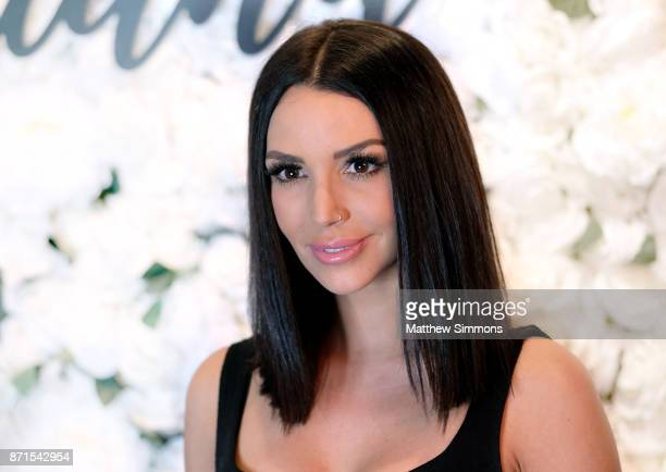 Scheana Marie at Ariana Madix Frankie Rose Cosmetics holiday launch at COD Restaurant on November 7 2017 in Los Angeles California