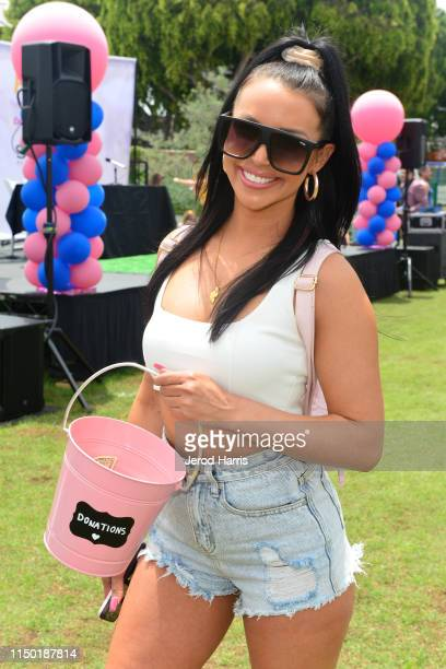 Scheana Marie attends 4th Annual World Dog Day at West Hollywood Park on May 18, 2019 in West Hollywood, California.