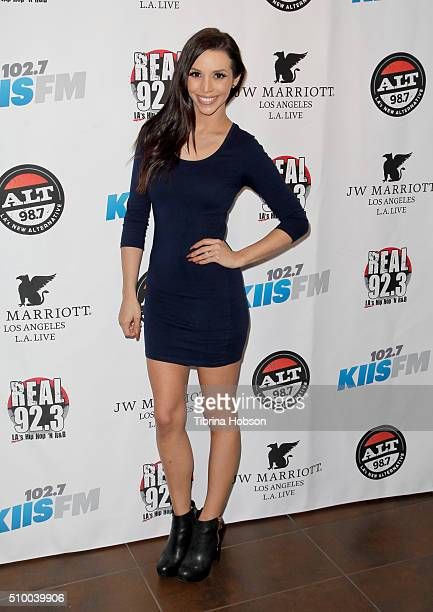 Scheana Marie attends Alt 987 1027 KIIS FM and REAL 923's 2016 GRAMMY Awards celebration at The Mixing Room at the JW Marriot Los Angeles on February...
