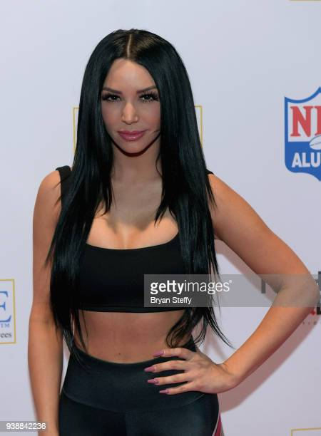 Scheana Marie attends day two of the 33rd annual Nightclub Bar Convention and Trade Show on March 27 2018 in Las Vegas Nevada