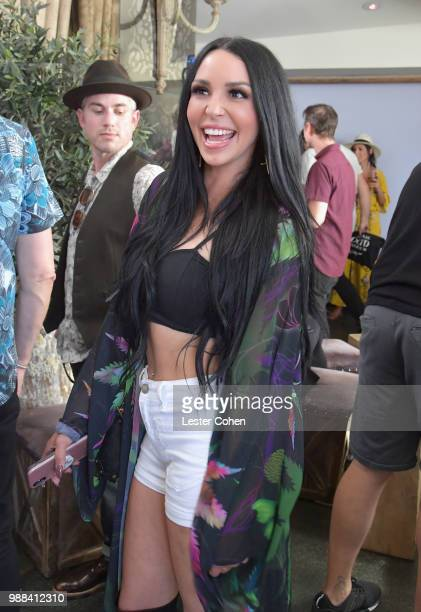 Scheana Marie attends National OOTD Day x Stassi Schroeder at Pump on June 30 2018 in West Hollywood California