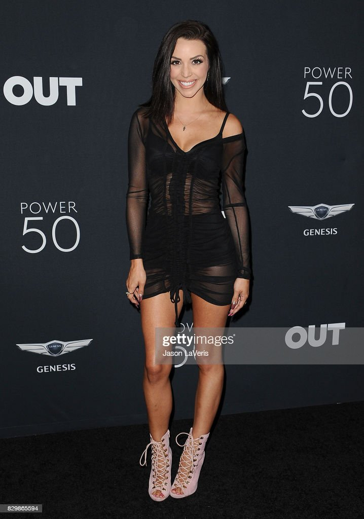 Scheana Marie attends OUT Magazine's inaugural POWER 50 gala and awards presentation at Goya Studios on August 10, 2017 in Los Angeles, California.