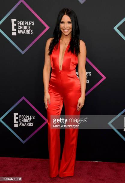 Scheana Marie attends the People's Choice Awards 2018 at Barker Hangar on November 11 2018 in Santa Monica California