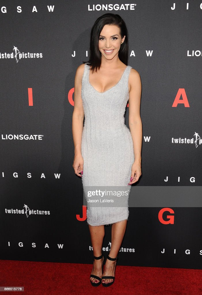 Scheana Marie attends the premiere of 'Jigsaw' at ArcLight Hollywood on October 25, 2017 in Hollywood, California.