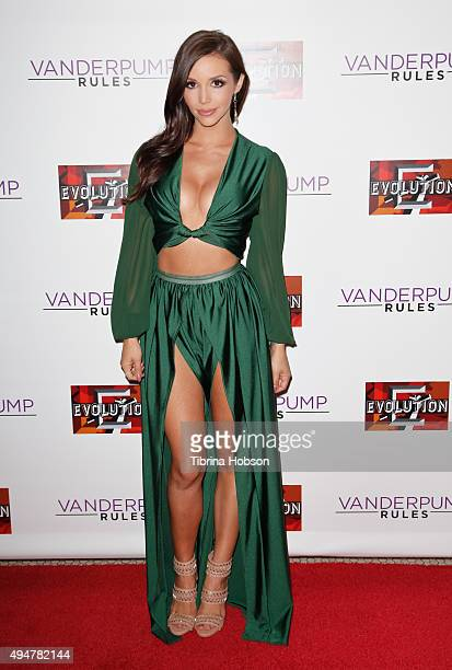 Scheana Marie attends the 'Vanderpump Rules' premiere party at The Church Key on October 28 2015 in West Hollywood California