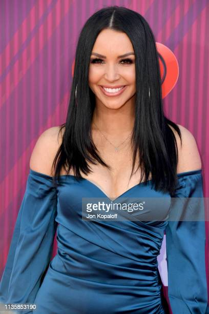 Scheana Marie Shay attends the 2019 iHeartRadio Music Awards which broadcasted live on FOX at Microsoft Theater on March 14 2019 in Los Angeles...