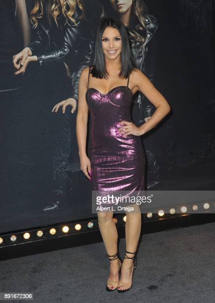 Scheana Shay arrives for the Premiere Of Universal Pictures' 'Pitch Perfect 3' held at The Dolby Theater on December 12 2017 in Hollywood California