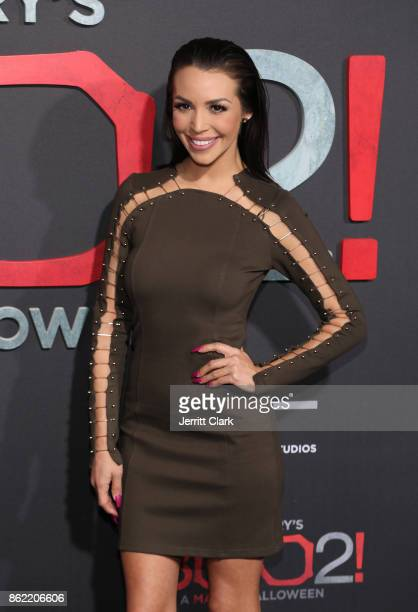 Scheana Shay attends the premiere of Lionsgate's 'Tyler Perry's Boo 2 A Madea Halloween' at Regal LA Live Stadium 14 on October 16 2017 in Los...