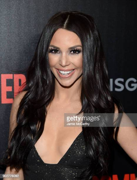 Scheana Shay attends the 'The Commuter' New York Premiere at AMC Loews Lincoln Square on January 8 2018 in New York City