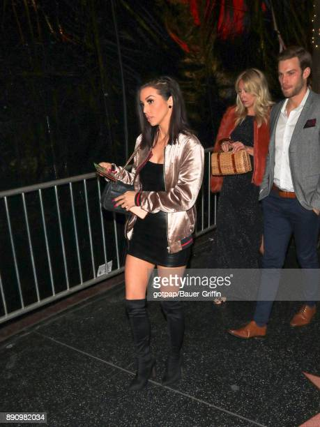 Scheana Shay is seen on December 11 2017 in Los Angeles California