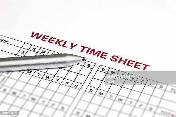 Schedule Sheet