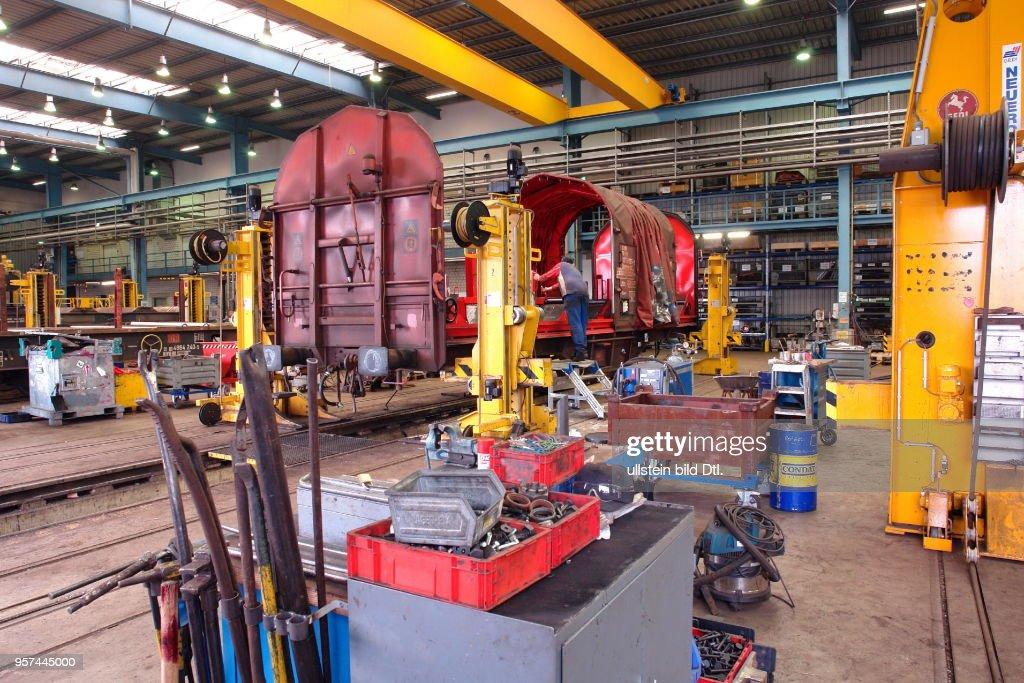 DB Schenker Rail maintenance factory Gremberg  In the repair