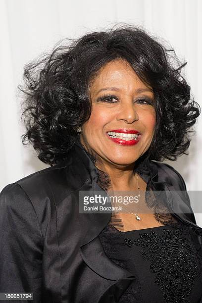Scherrie Payne attends An Evening with Berry Gordy at the Art Institute Of Chicago on November 17 2012 in Chicago Illinois