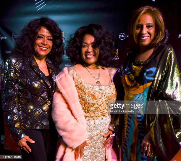 Scherrie Payne Susaye Greene and Joyce Vincent attend the 5th Annual Raw Science Film Festival at The Theatre at Ace Hotel on January 26 2019 in Los...