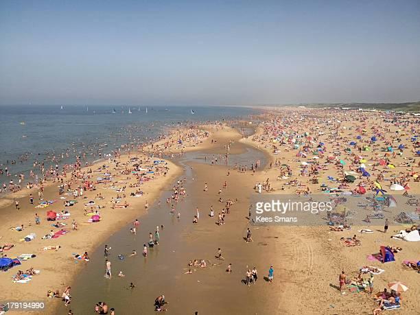 Scheveningen Beach, hot summerday