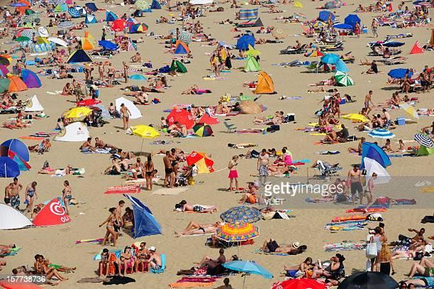 Scheveningen beach resort in the Netherlands