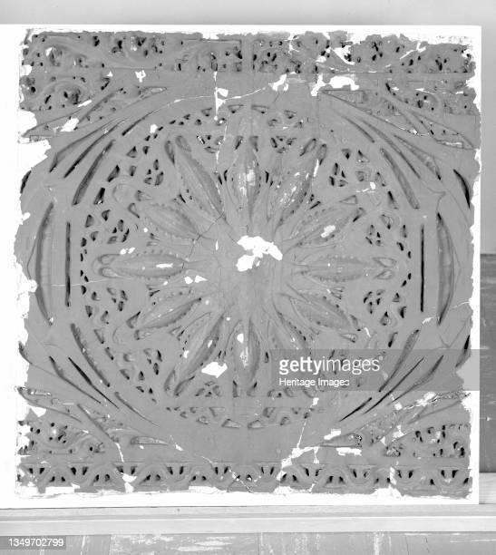 Schiller Building : Sections of Star-Pod Design from Proscenium Vault, circa 1891/92. Artist Louis Sullivan.