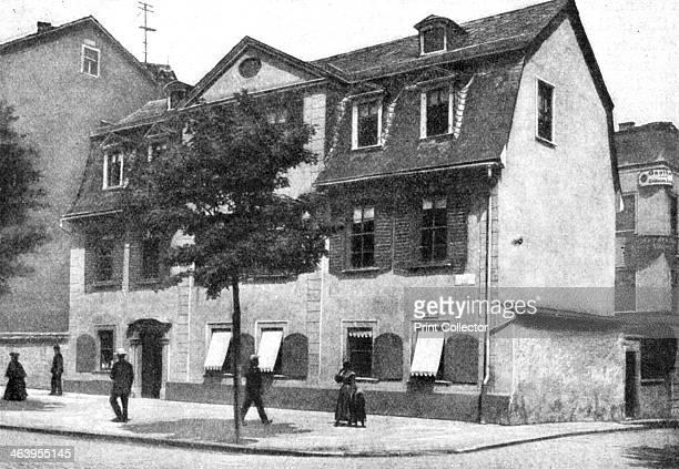 Schiller's house 'German Athens' Germany 1922 Johann Christoph Friedrich von Schiller was a German poet philosopher historian and dramatist From...
