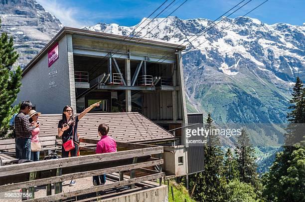 Schilthorn cable car station, Murren, Switzerland