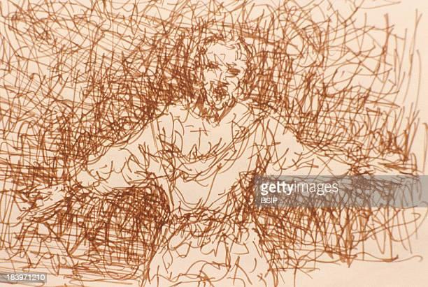 Schizophrenia Drawing By Schizophrenic Patient