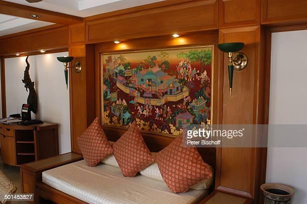 """Schlafzimmer einer Suite, Hotel """"Central Karon Village"""", Karon Beach, Insel Phuket, Thailand, Süd-Ost-Asien, Bett, Reise, BB, DIG; P.-Nr.: 386/2005, ;"""
