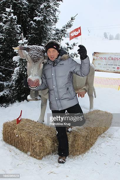 Schlagersänger Gilbert Vor Dem 2 Promi Schlittenhunderennen Tirol Cross Mountain In Kühtai