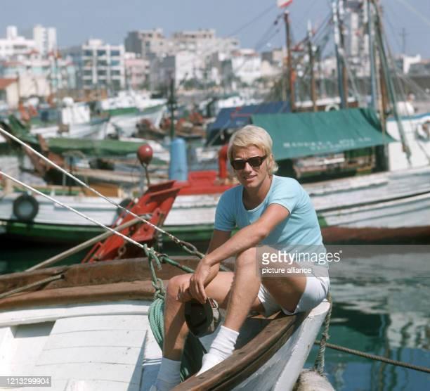 Schlagersänger Heino verbringt 1974 seinen Urlaub im spanischen Vinaroz