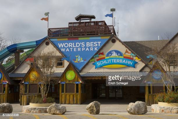 Schlitterbahn Waterpark and Resort where Devin Patrick Kelley worked is seen November 6 2017 in New Braunfels Texas Kelley was the alledged gunman...