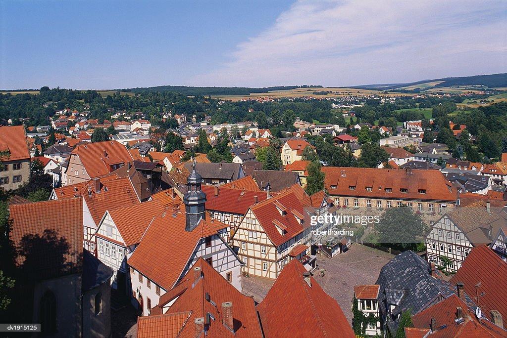 Schlitz, Hessen, Germany : Stock Photo