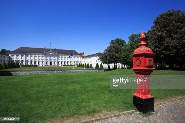 schloss bellevue (bellevue castle) - berlin, germany - bellevue skyline stock pictures, royalty-free photos & images