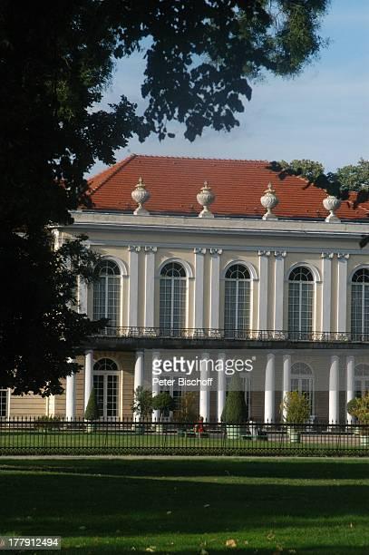 Schloss Charlottenburg Seitenansicht Charlottenburg Berlin Deutschland Europa Denkmal Kunstsammlung BarockArchitektur Reise