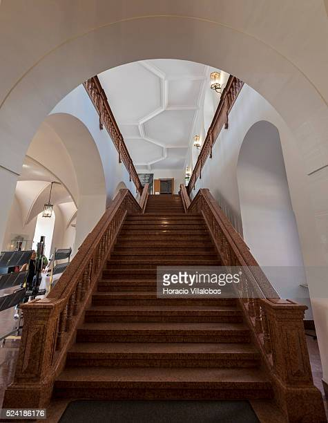 Schloss Johannisburg in Aschaffenburg Germany 14 May 2015 one of the most important buildings of the Renaissance period in Germany erected between...