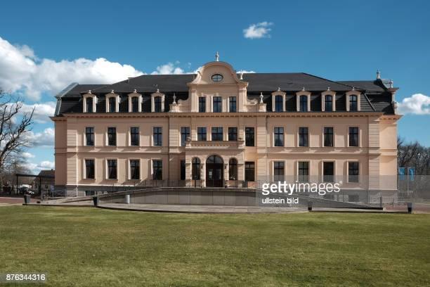 Schloss Ribbeck im Havelland Schlosspark früherer Stammsitz der Herren zu Ribbeck im Havelland