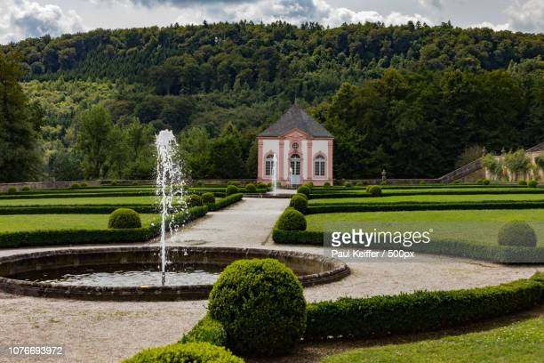 schloss weilerbach - keiffer stock pictures, royalty-free photos & images