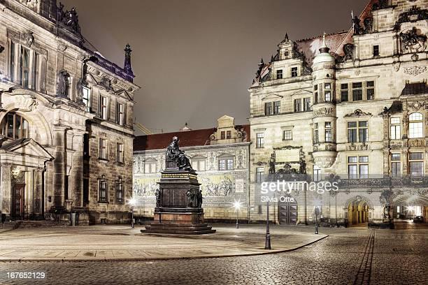 Schlossplatz in Dresden