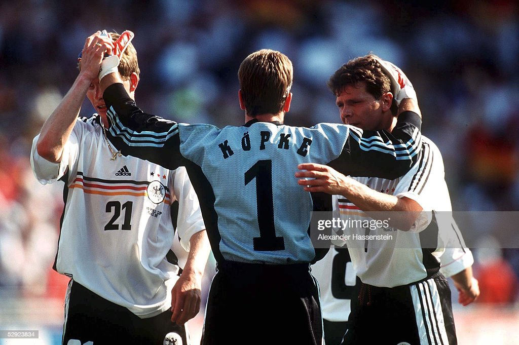 FUSSBALL: WM FRANCE 98 Montpellier, 29.06.98 : News Photo